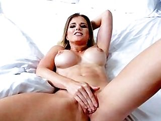 Stunning Display Of Mommy Getting My Sperm On Her Tits