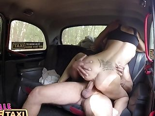 Female Faux Cab Blonde Beauty Fucks Her Passenger