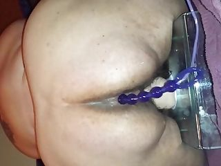 My Old Friend Two - Noisy Orgasm With Anal Invasion Beads And Big Faux-cock