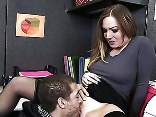 Immensely Whorey Assistant Tiff Bannister Wanna Nothing But Hard Fuck At Work