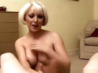 Mini Sundress Cougar Gives Bf A Harsh Hand Jobs