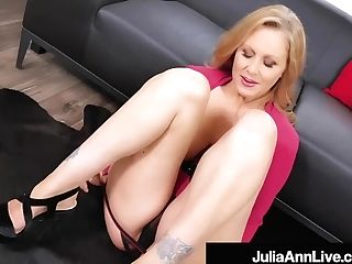 Sexy Matures Mummy Julia Ann Face Fucks A Hard Woo!