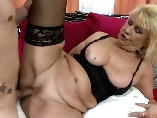 Horny Matures Loves Fucking With Youthful Boy