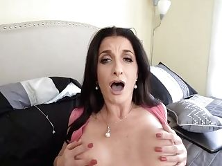 Pervmom - Huge-boobed Mom Fucks Stepson