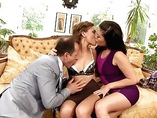 Incredible Superstars London Keys And Sylvia Laurent In Greatest Ass Fucking, Threesome Xxx Movie