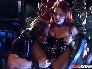 Sexy Vampire Karina Kay Hooks Up With Brutal Dude Who Bangs Her Cunt Sans Grace