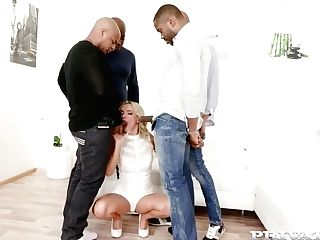 Victoria Unspoiled Likes To Suck Black Dicks And To Get Them Deep Inwards Her Fuckholes
