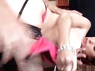 Ginger-haired Cougar Fucked By Jewel Thief
