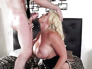 Cougar Alura Jenson With Big Butt Spends Her Sexual Energy With Stiff Snake In Her Mouth  : Lovemaking Vid Pornalized.com