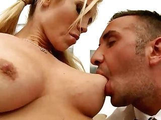 Blonde Tasha Reign Is Hired To Look After The Mansion