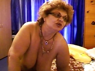 Matures Curly Haired Bitch With Saggy Tits