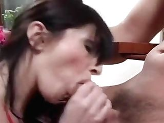 Sexy Mummy Takes It Deep In Her Pierced Gash