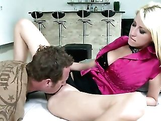 Blonde Cant Live A Day Sans Taking Rock Solid Worm In Her Mouth  - The Best Tube Pornalized.com