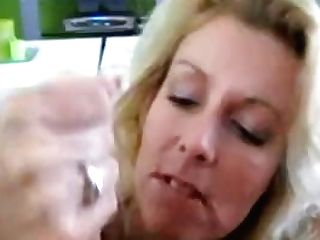 Blonde Mummy From Holland Oral Pleasure