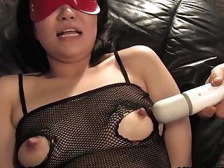 Asians Chubby Bitch Gets Bounded And Slammed With Hump Fucktoys
