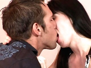 Brown-haired Rayveness Just Perceives Intense Sexual Desire And Fellates Johnny Castles Love Stick Like Crazy