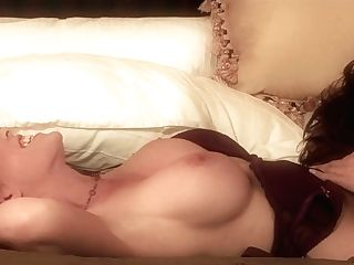 Ginger-haired Gal Michelle Lay With Tastey Tits Having Voluptuous Hook-up