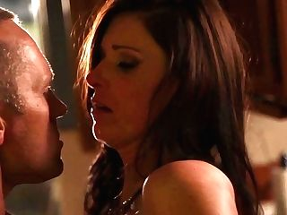 Marcus London Gets Seduced By Black-haired India Summer And Then Fucks Her Mouth