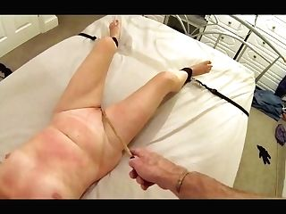 Matures Whipped And Caned For Cheating