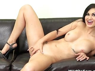 Crazy Adult Movie Star Kendall Karson In Horny Solo Nymph, Getting Off Intercourse Movie