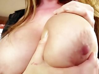 Oiledup Cougar Tittyfucking And Sucking In Point Of View