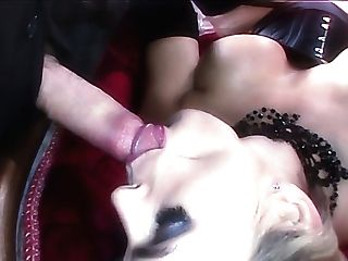 Hypnotizing Cougar In Corset Tanya Tate Desires To Be Fucked In Spoon Pose