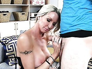 Fucking Hot Cougar Emma Starr Gives Her Head To Horny Neighbor Dane Cross
