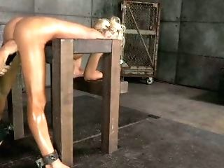 Well Packed Big Titted Blondie Is Screwed Rear End And Mouthfucked In Hard Way