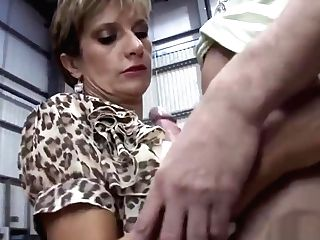 Unfaithful English Cougar Lady Sonia Showcases Her Massive Puppies