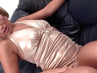 Exotic Sex Industry Star Sylvia Laurent In Best Facial Cumshot, Blonde Fuck-fest Clip