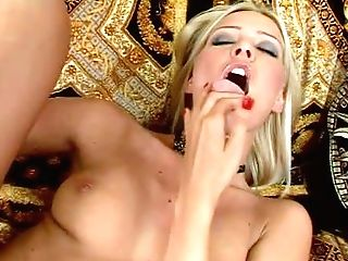 One Of A Kind Stunning Blonde Princess With Lengthy Sexy
