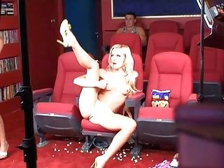 Nasty Blonde And Brown-haired Adult Movie Star Ladies Have Lots Of Joy
